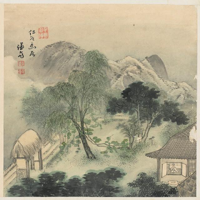 겸재(謙齋) 정선(鄭敾, 1676~1759) 경교명승첩(京郊名勝帖) 인곡유거