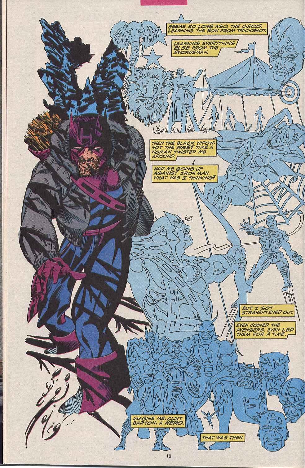 Hawkeye (1994) Issue #1 #1 - English 8