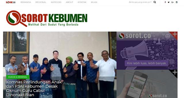 Website Kebumen.sorot.co