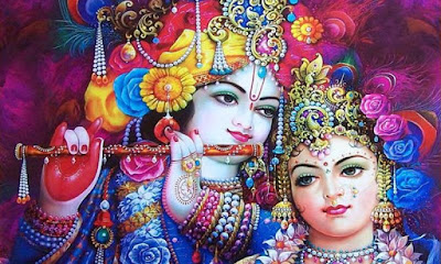 Good Morning Radhe Krishna on Whatsapp
