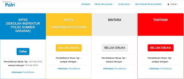 Pendaftaran Online Polri 2016 Resmi DIBUKA Yuk Daftar Sekarang !