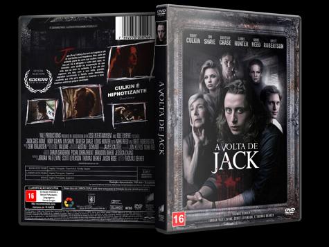 Capa DVD A Volta de Jack [Custom]