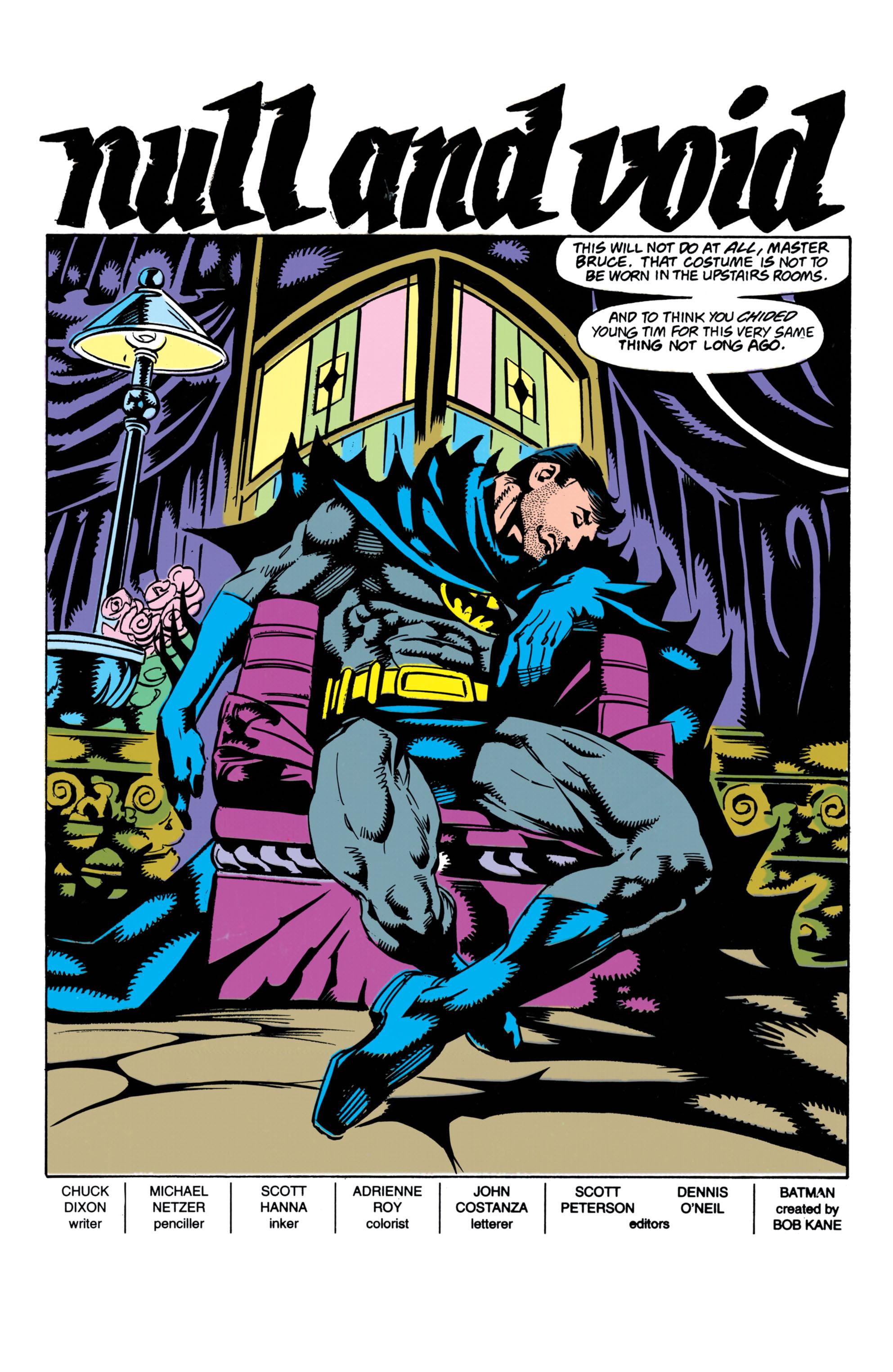 Detective Comics (1937) 657 Page 1