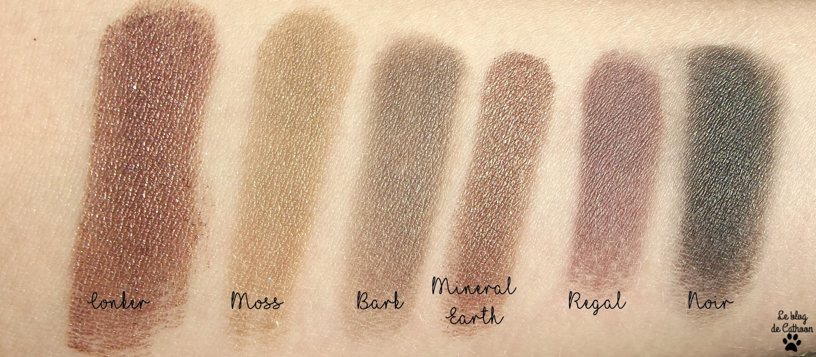 swatch palette au naturel sleek