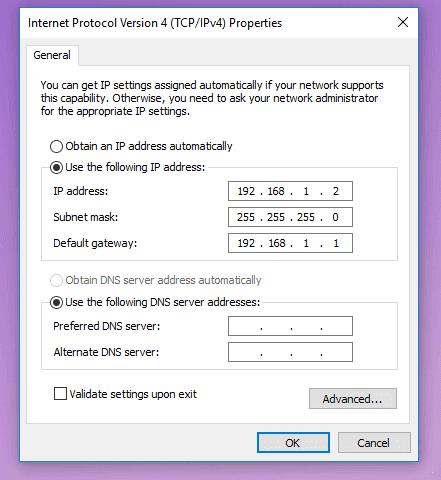 Setting IP Komputer Satu