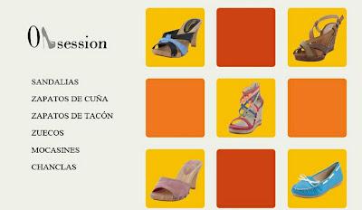 Oferta de zapatos Obsession