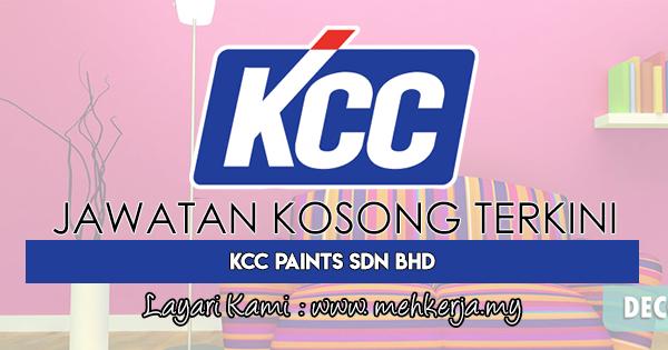 Jawatan Kosong Terkini 2018 di Korea Chemical Co. Ltd. (KCC)