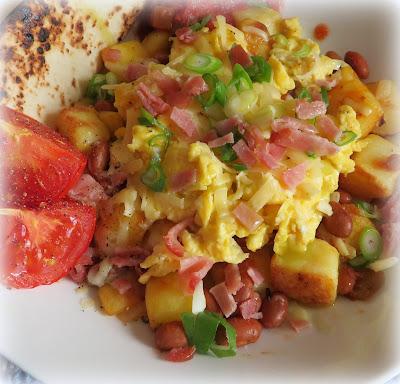 Scrambled Huevos Rancheros Bowls