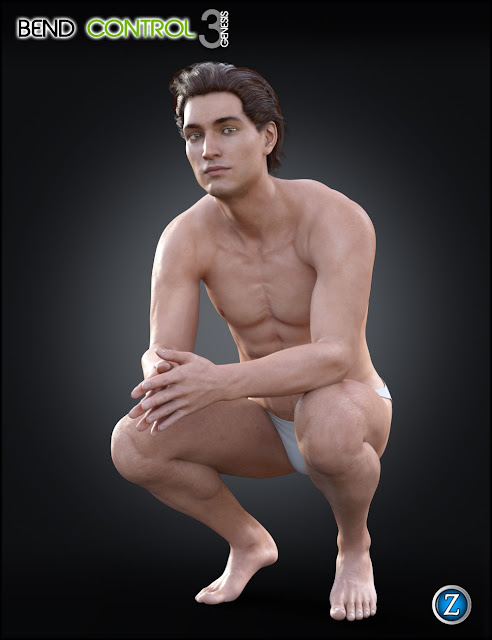 Bend Control for Genesis 3 Male