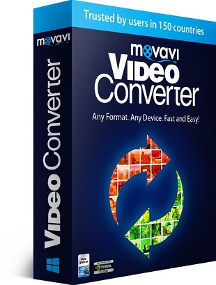 Movavi Video Converter 17.0.1 poster box cover