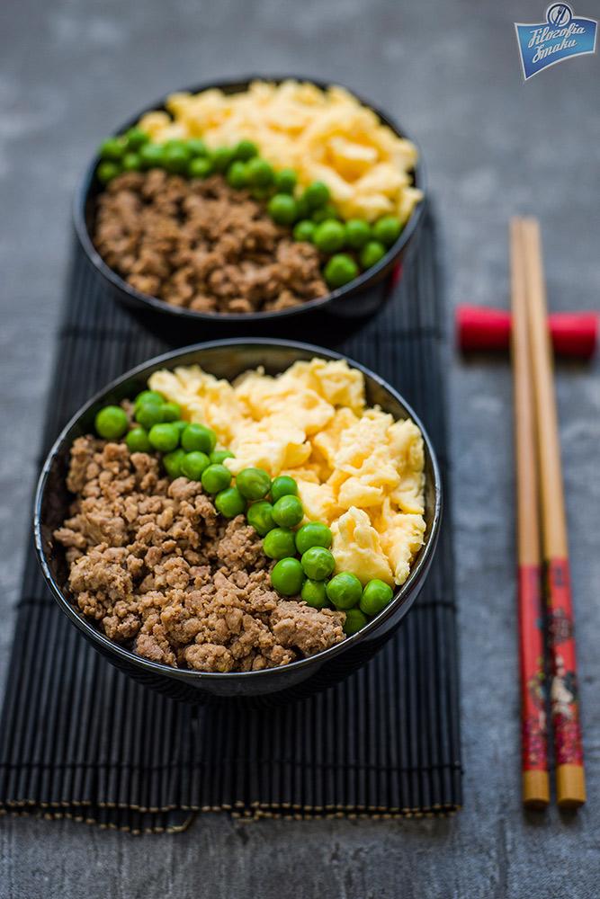Ryż z kurczakiem do lunchboxa