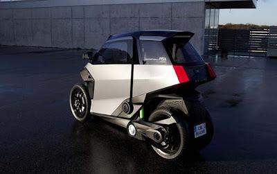 EU-Live presenta un vehicle electrificat de 3 rodes