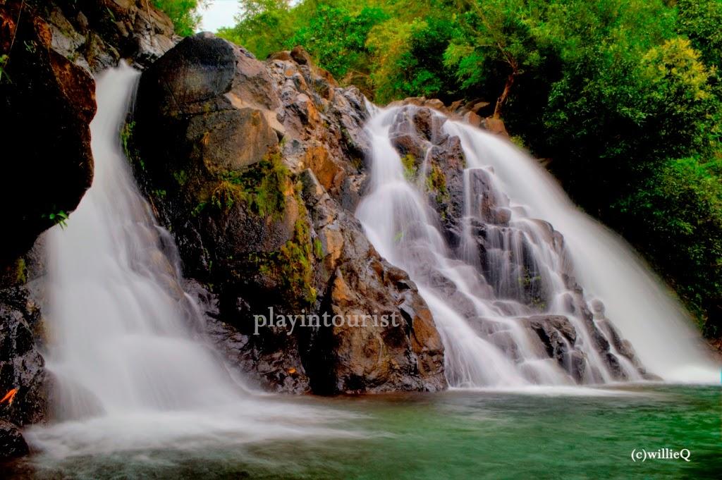Lubong Falls pool