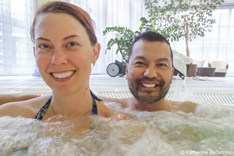Hilton Munich Airport Fit & Fly Spa Whirlpool Munich Airport Long Layover Germany