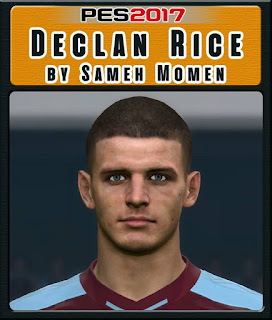 PES 2017 Faces Declan Rice by Sameh Momen