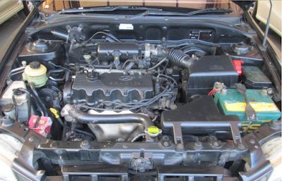 Mesin Hyundai Accent Verna