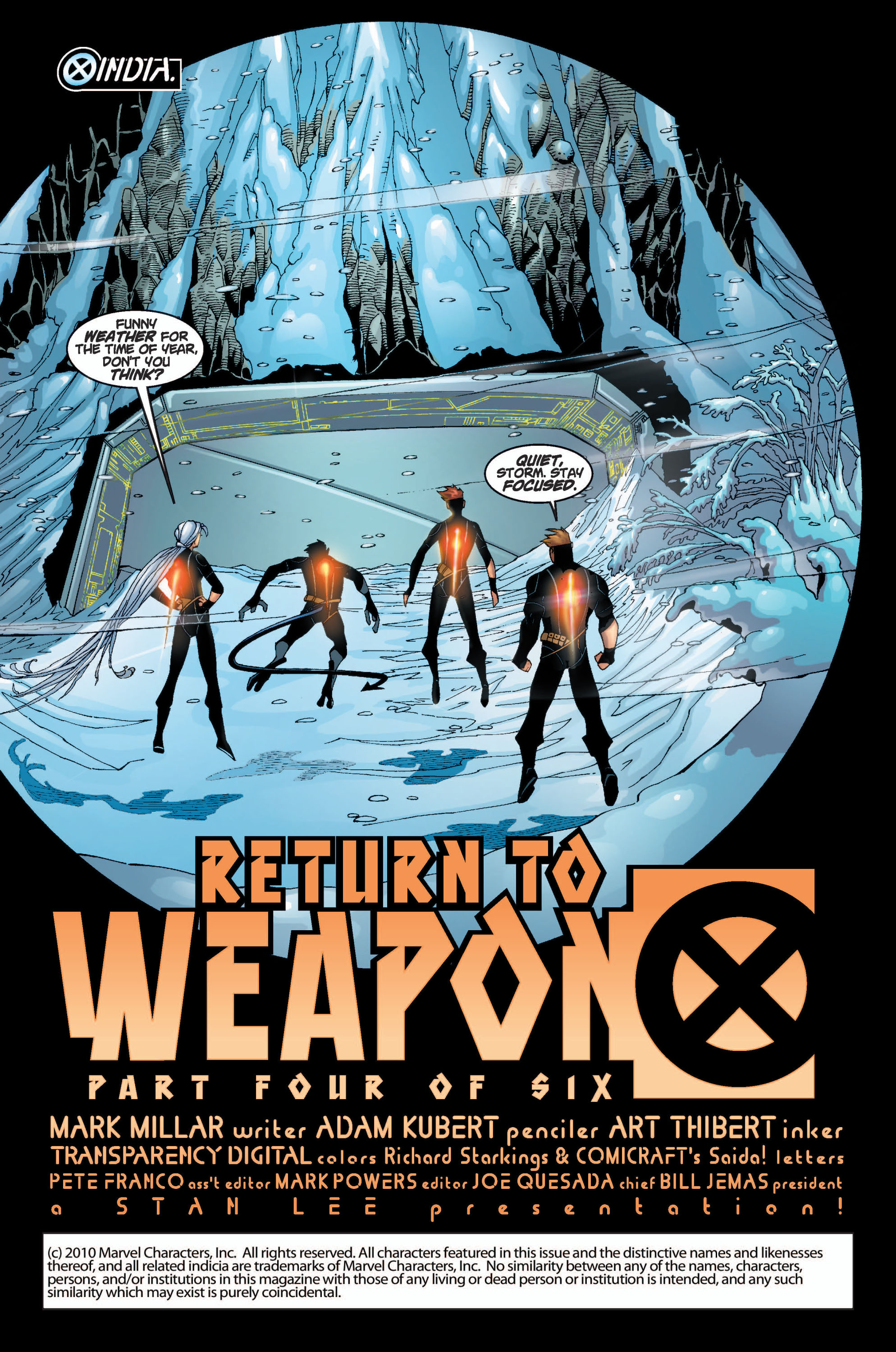 Read online Ultimate X-Men comic -  Issue #10 - 2