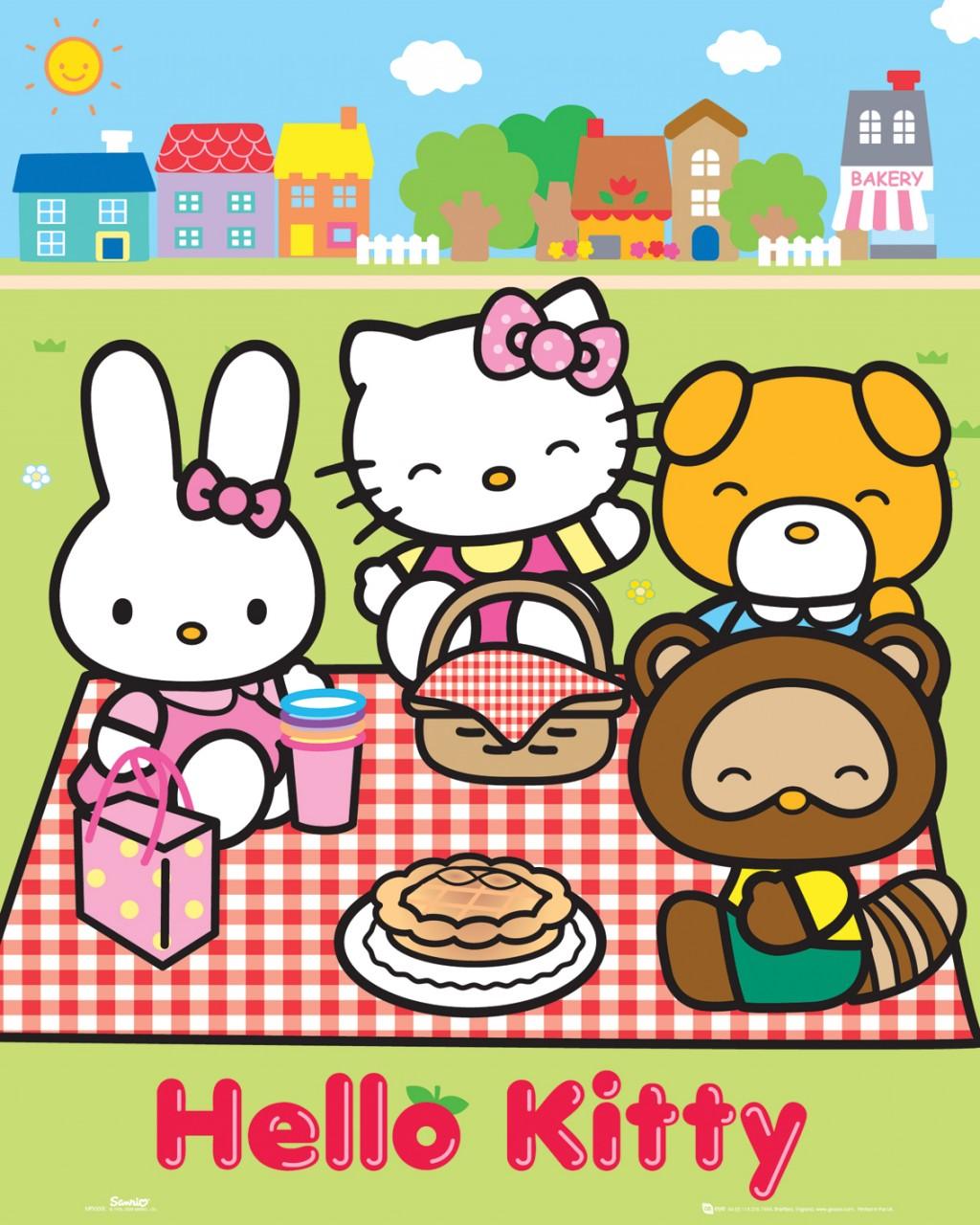 Kawaii Blush: A Picnic With Hello Kitty