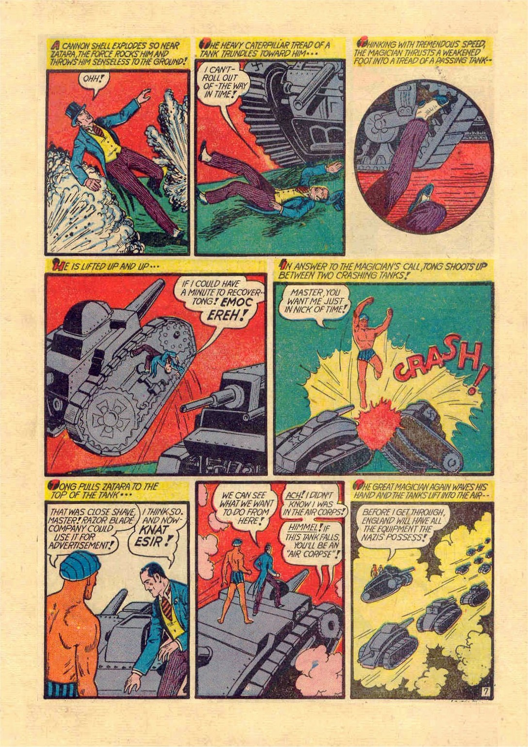 Read online Action Comics (1938) comic -  Issue #46 - 62