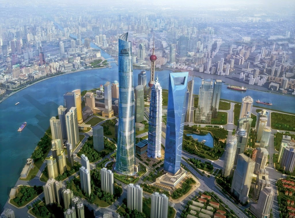 Tower In China Shanghai Tower