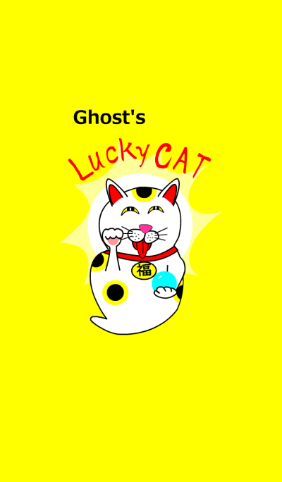 Ghost's funny Lucky CAT