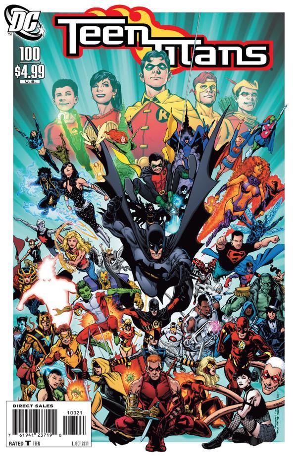 dc comics teen titans