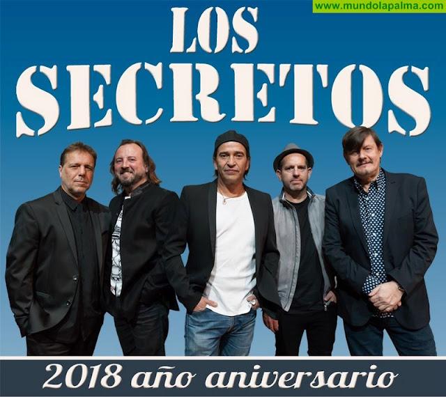 La mítica banda 'Los Secretos' traerá a las Fiestas Trienales de El Pino su 40 Aniversario