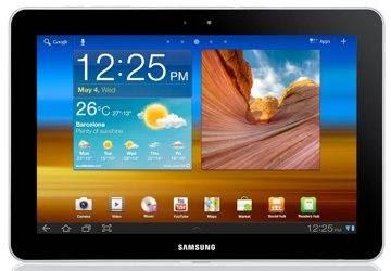Tablets finos e leves como o Galaxy Tab 10.1 (8,6 mm, 565 gramas) são a tendência