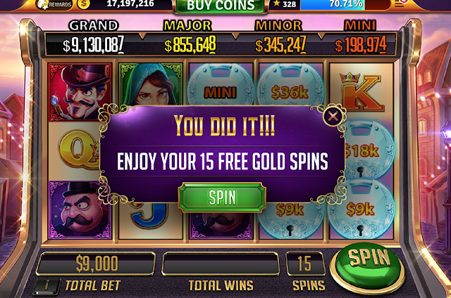 House of Fun Gold Spins