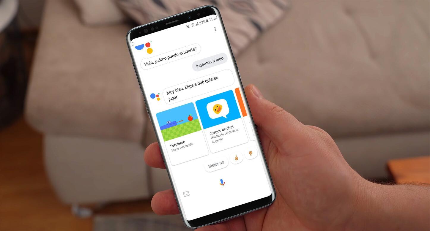 Asistente de Google para Android