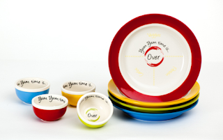 I decided I needed to compare our current dinner plate with yumyumu0027s 9inch dinner plate. I canu0027t believe the difference! My dinner plate is so huge!  sc 1 st  Oh So Savvy Mom & Help keep your dinner time portions in control with Yum Yum 9 inch ...