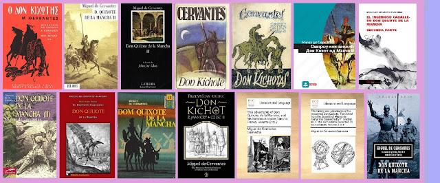 Portadas del libro Segunda parte de El ingenioso hidalgo don Quijote de la Mancha, de Cervantes