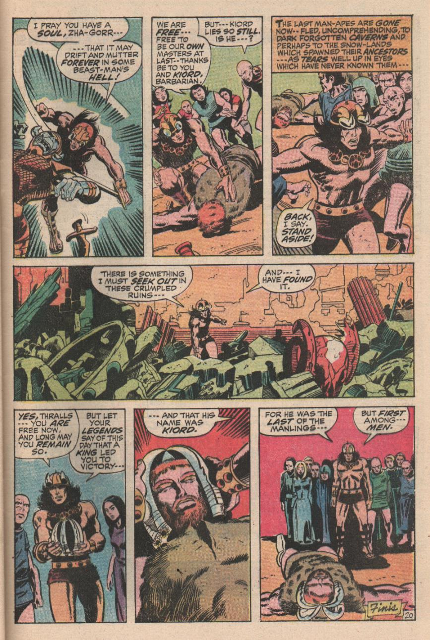Conan the Barbarian (1970) Issue #2 #14 - English 21
