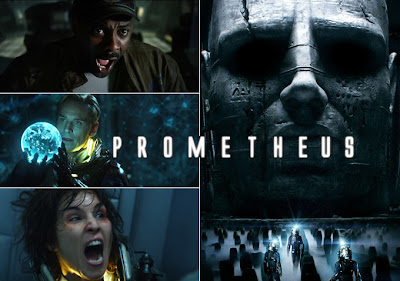 Prometheus movie regisserad av Ridley Scott