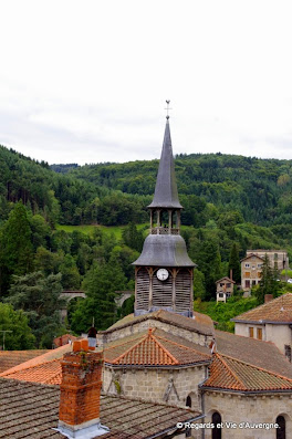 Olliergues, Puy-de-Dôme, Auvergne.église saint Vincent