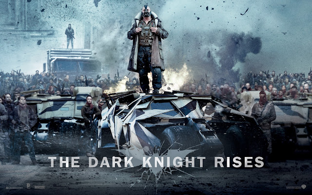 Bane on The Dark Knight Rises 2012 Bluray Full HD