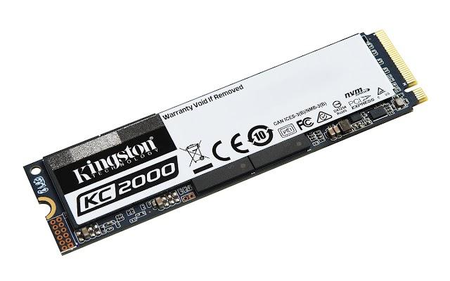 كينغستون تطرح أقراص تخزين الحالة الصلبة KC2000 بخصائص مبهرة وأداء استثنائي