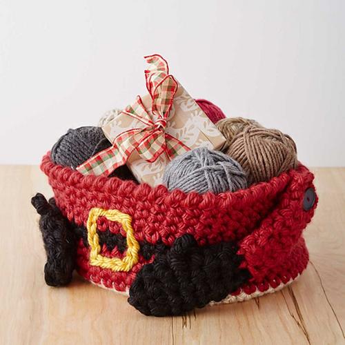 Crochet treasures free santa claus theme patterns
