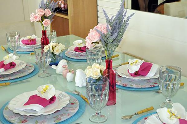 Decoraç u00e3o de mesas para o Dias das M u00e3es! Abrir Janela # Decoração De Mesa Para Almoço Dia Das Mães