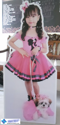 Life Size Standee - Birthday Girl