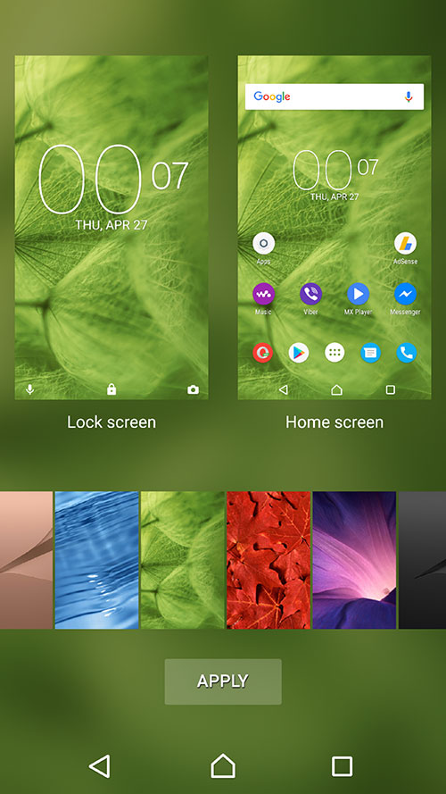 Xperia Home 10.2.A.3.0beta