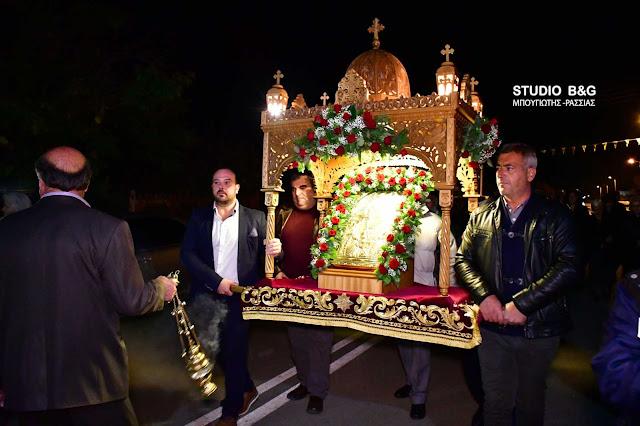 Η εορτή του Αγίου Νικολάου στην Άκοβα Άργους (βίντεο)