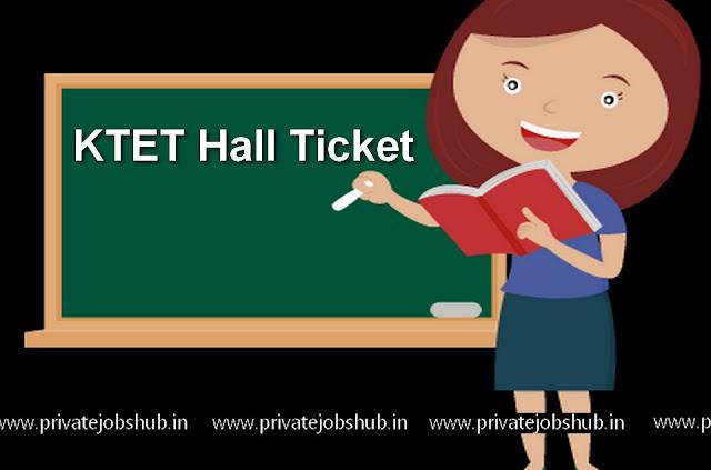 KTET Hall Ticket