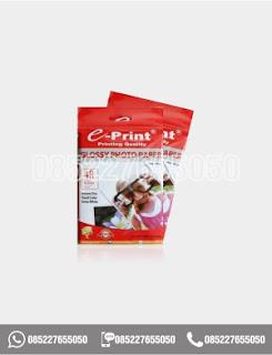 Kertas Foto Glossy Photo Paper 4R A6 Eprint 200gsm, alat tulis kantor, 0852-2765-5050