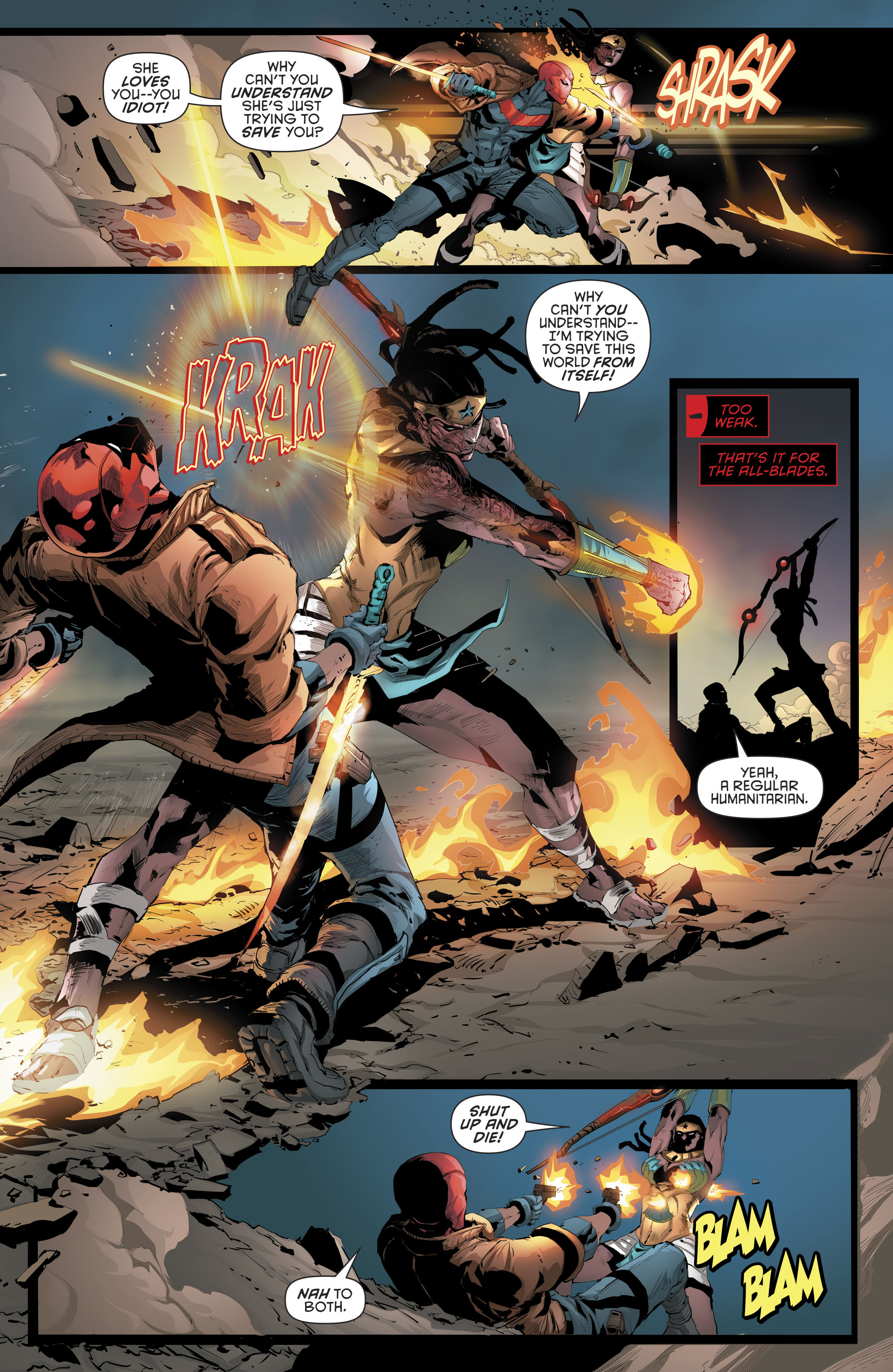 Read online Red Hood and the Outlaws (2016) comic -  Issue #11 - 15