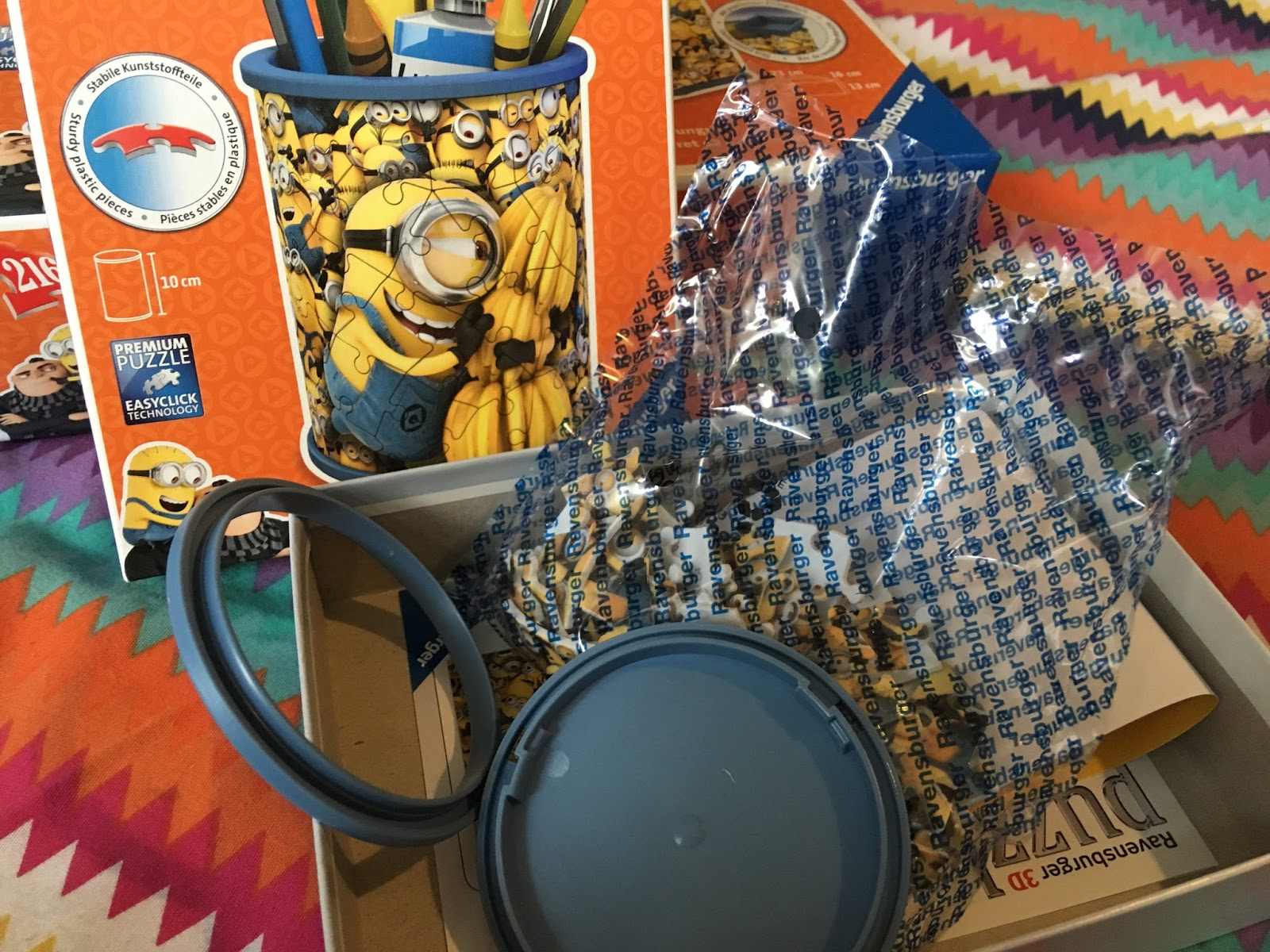 We Were Contacted And Asked If Would Like To Try Out Some 3d Puzzles From Ravensburger Based On Despicable Me 3 The Kids Love All Things Minions So Of