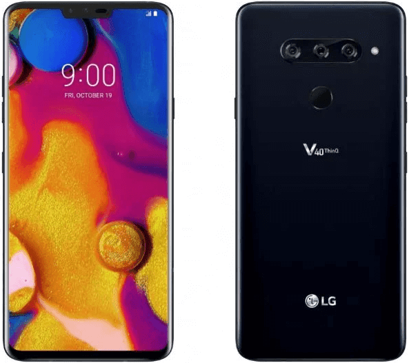 LG V40 ThinQ Smartphone now Official