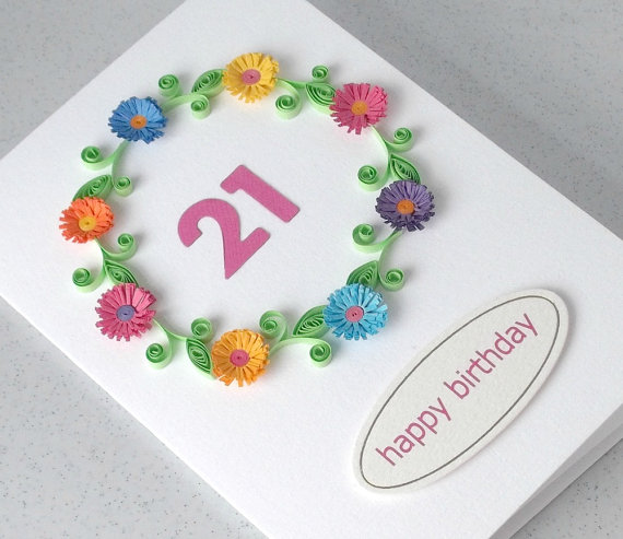 Handmade Quilling Paper Birthday Greeting Cards 2015 Quilling Designs