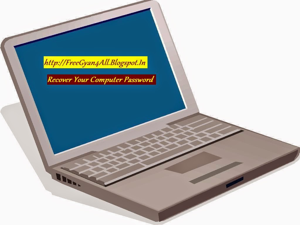 Recover your computer password