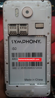 Symphony i50 Flash File | MT6580 Stock Firmware File Tested